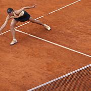 Roma 16/05/2018 Foro Italico<br /> Internazionali BNL d'Italia 2018<br /> Maria SHARAPOVA (RUS) vista dall'alto durante l'incontro con Dominika CIBULKOVA (SVK)