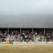 during the Roxburgh Trotting Club Summer Festival Races, Roxburgh, Otago, New Zealand. 5th January 2012