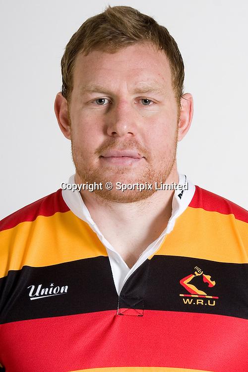 Ben Castle, Chiefs squad 2008 season, headshot portrait, Rebel Sport Super 14, Rugby Union, Waikato Stadium, Hamilton, Waikato, New Zealand, Credit: Sportpix - David Wheadon