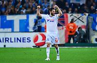 Joie Andre Pierre GIGNAC - 05.04.2015 - Marseille / Paris Saint Germain - 31eme journee de Ligue 1<br />Photo : Dave Winter / Icon Sport