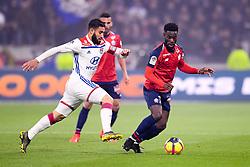 May 5, 2019 - Lyon, France - 18 NABIL FEKIR (OL) - 14 JONATHAN BAMBA  (Credit Image: © Panoramic via ZUMA Press)