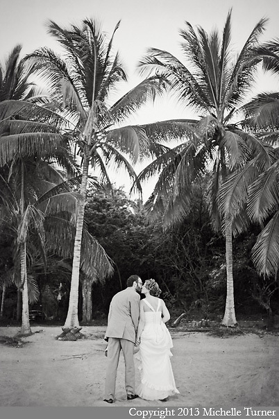 Cate and Saro's destination wedding at Don Pedro's Palapa.  Images by Sayulita Wedding Photographer Michelle Turner.