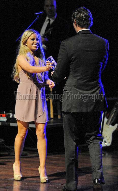 during Rebel Choice Awards in Oxford, Miss., Monday, March 23, 2015. (Photo/Thomas Graning)