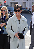 Kris Jenner arrives at the Avenue restaurant