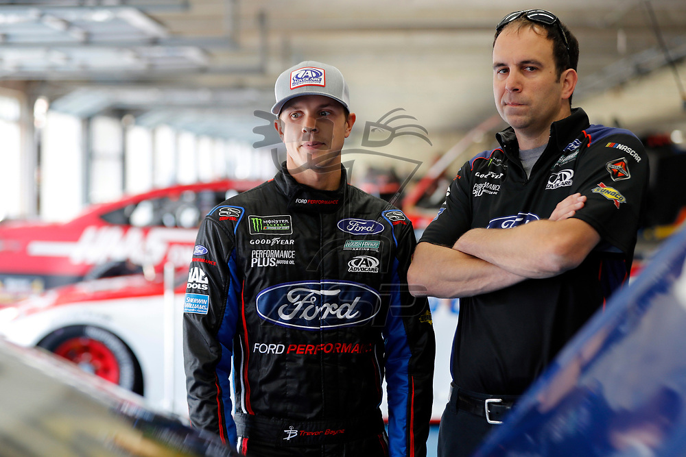 May 25, 2017 - Concord, NC, USA: Trevor Bayne (6) hangs out in the garage during practice for the Coca Cola 600 at Charlotte Motor Speedway in Concord, NC.