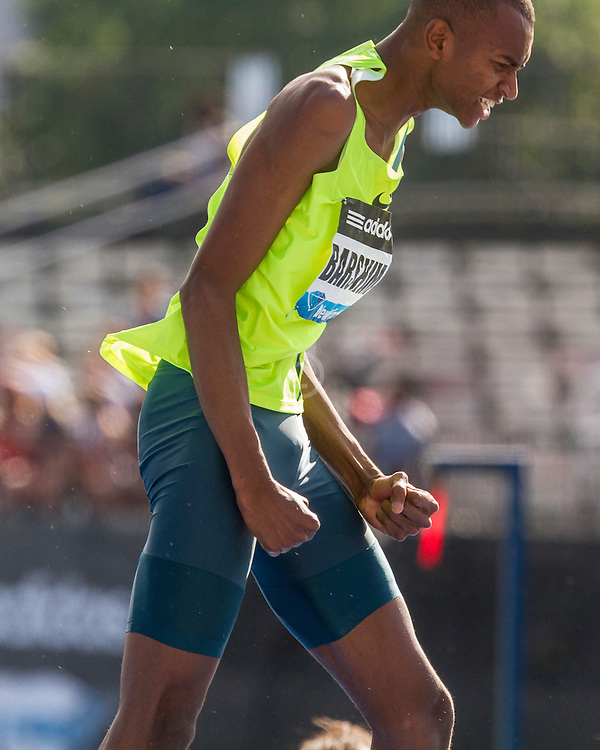 Mutaz Essa Barshim, Qatar, men's high jump, adidas Grand Prix Diamond League track and field meet