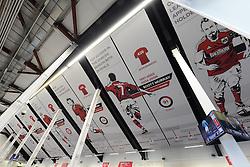 New South Stand banners in the concourse - Mandatory byline: Dougie Allward/JMP - 05/12/2015 - Football - Ashton Gate - Bristol, England - Bristol City v Blackburn Rovers - Sky Bet Championship