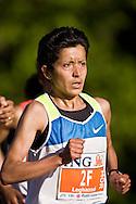 Ottawa, Ontario ---25/05/08--- Asmae Leghazoui runs during the ING Ottawa Marathon, May 26, 2008..GEOFF ROBINS /