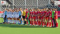 ANTWERPEN -  Ireland-Russia (3-2) . Belfius Eurohockey Championship (women) hockey. line up Russia.  WSP/ KOEN SUYK