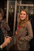 ELIZA PEARSON, Mim Scala, In Motion, private view. Eleven. Eccleston st. London. 9 October 2014.