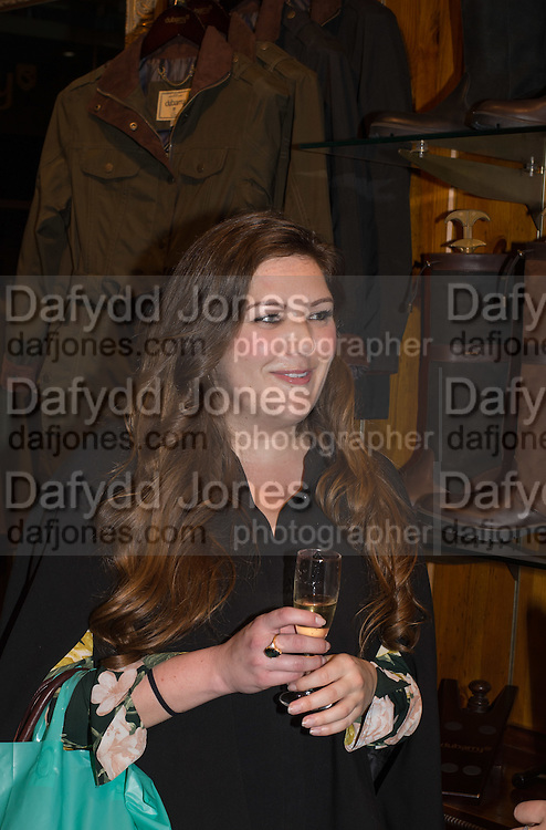 COURTNEY FLEMING, Tatler and Dubarry host an evening with Clare Balding, Dubarry of Ireland, 34 Duke of York's Sq. London. 13 October 2016.