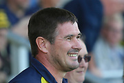 Burton Albion Manager Nigel Clough during the EFL Sky Bet League 1 match between Burton Albion and Rotherham United at the Pirelli Stadium, Burton upon Trent, England on 17 August 2019.