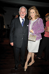 LORD & LADY WOLFSON OF MARYLEBONE at the launch of the Imperial War Museum's 70th anniversary commemorating the outbreak of World War 11 held at the Cabinet War Rooms, Whitehall, London on 2nd September 2009.