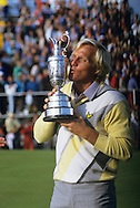 Greg Norman 1986 Open trophy winner
