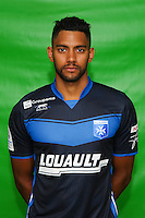 Zacharie Boucher of Auxerre during Auxerre squad photo call for the 2016-2017 Ligue 2 season on September, 7 2016 in Auxerre, France ( Photo by Andre Ferreira / Icon Sport )