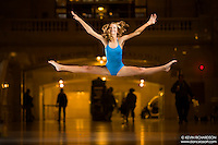 Dance As Art The New York City Photography Project Grand Central Terminal Series with dancer Madison Eisenhart