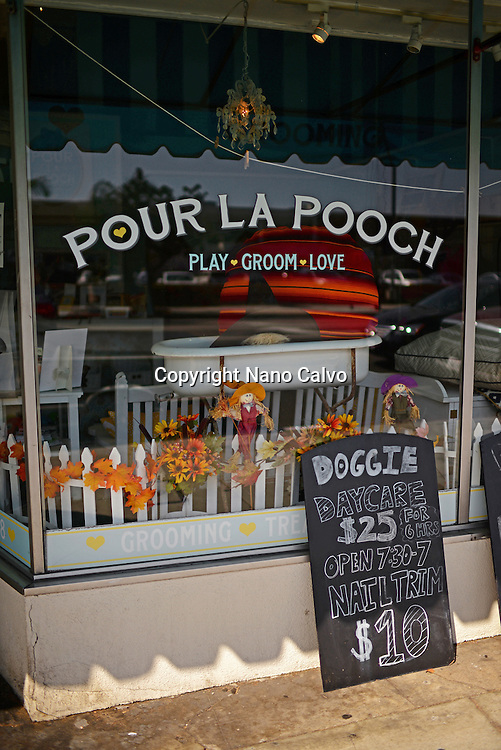 Pour La Pooch Grooming Salon & Boutique, Los Angeles.