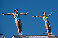 Team JAPAN SASAKI Nana ARAI Matsuri Gold medal<br /> Bolzano, Italy <br /> 22nd FINA Diving Grand Prix 2016 Trofeo Unipol<br /> Diving<br /> Women's 10m platform final <br /> Day 03 17-07-2016<br /> Photo Giorgio Perottino/Deepbluemedia/Insidefoto