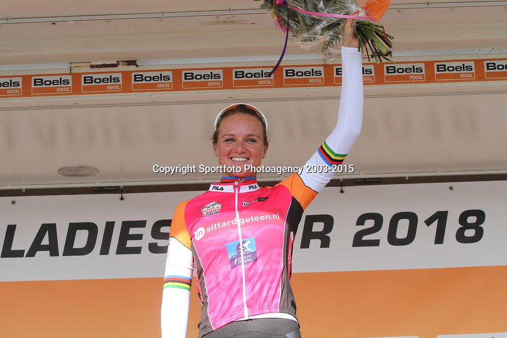 01-09-2018: Wielrennen: Ladies Tour: Sittard<br />Chantal Blaak wint de etappe door de Limburgse heuvels