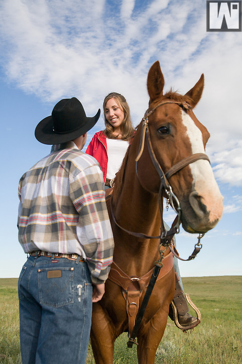 Western Lifestyle Photography at Lummis Ranch.