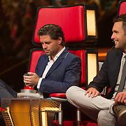 NLD/Hilversum/20140221 - Finale The Voice Kids 2014 Nick en Simon