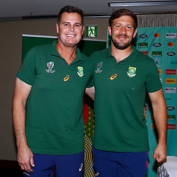 17,10,2019 South Africa Springbok team announcement and media conference