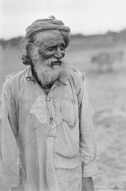 An Old Jodhpur Mahratta Man, Bellary, India, 1929