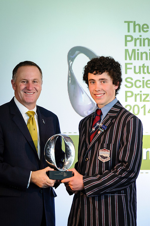 WELLINGTON, NEW ZEALAND - December 02: Prime Ministers Science Prizes December 02, 2014 in Wellington, New Zealand.  (Photo by Mark Tantrum/ mark tantrum.com)