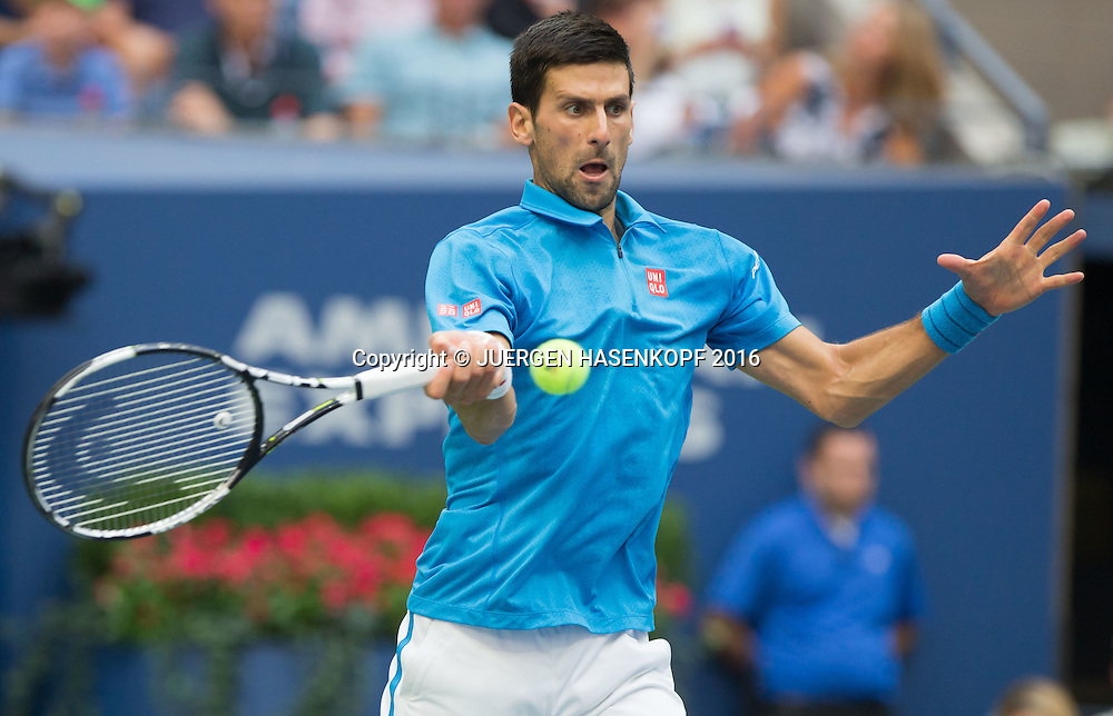 NOVAK DJOKOVIC (SRB)<br /> <br /> Tennis - US Open 2016 - Grand Slam ITF / ATP / WTA -  USTA Billie Jean King National Tennis Center - New York - New York - USA  - 11 September 2016.