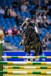 Wathelet Gregory, BEL, Iron Man vd Padenborre<br /> CHIO Aachen 2019<br /> Weltfest des Pferdesports<br /> © Hippo Foto - Dirk Caremans<br /> Wathelet Gregory, BEL, Iron Man vd Padenborre