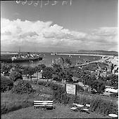 1959 Dun Laoghaire Harbour View