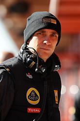 18.02.2011, Circuit de Catalunya, Barcelona, ESP, Formel 1 Test 3 2011,  im Bild Vitaly Petrov (RUS), Lotus Renault GP EXPA Pictures © 2011, PhotoCredit: EXPA/ nph/  Dieter Mathis       ****** out of GER / SWE / CRO  / BEL ******