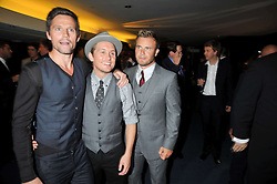 Jason Orange; Mark Owen; Gary Barlow at the annual GQ Awards held at the Royal Opera House, Covent Garden, London on 8th September 2009.