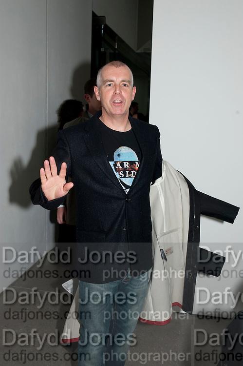 NEIL TENNANT, Nothing Matters. Damien Hirst exhibition. White Cube. Mason's Yard. London. 24 November 2009