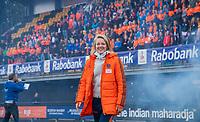 Den Bosch - Rabo fandag 2019 . hockey clinics met de spelers van het Nederlandse team. opkomst van international Ireen vd Assem (Ned).   COPYRIGHT KOEN SUYK