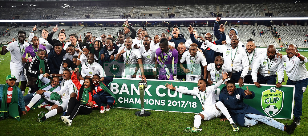 Cape Town-180519 Free State Stars are the champions of the Nedbank cup hosted  at Cape Town stadium   .photograph:Phando Jikelo/African News Agency/ANA