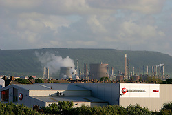 UK ENGLAND REDCAR 30MAY06 - Heavy industry lines the landscape at Redcar, northern England...jre/Photo by Jiri Rezac..© Jiri Rezac 2006..Contact: +44 (0) 7050 110 417.Mobile:  +44 (0) 7801 337 683.Office:  +44 (0) 20 8968 9635..Email:   jiri@jirirezac.com.Web:    www.jirirezac.com..© All images Jiri Rezac 2006 - All rights reserved.