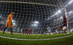 December 13, 2018 - Budapest, Hungary - 4th goal in the UEFA Europa League Group L match between MOL Vidi FC and Chelsea FC at Groupama stadium on Dec 13, 2018 in Budapest, Hungary. (Credit Image: © Robert Szaniszlo/NurPhoto via ZUMA Press)