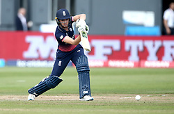 Sarah Taylor of England Women hits a cover drive - Mandatory by-line: Robbie Stephenson/JMP - 09/07/2017 - CRICKET - Bristol County Ground - Bristol, United Kingdom - England v Australia - ICC Women's World Cup match 19