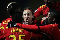 Fotball<br /> Frankrike<br /> Foto: Dppi/Digitalsport<br /> NORWAY ONLY<br /> <br /> FOOTBALL - FRENCH CHAMPIONSHIP 2010/2011 - L2 - LEMANS FC v ES TROYES - 6/12/2010<br /> <br /> JOY THORSTEIN HELSTAD (LE MANS)