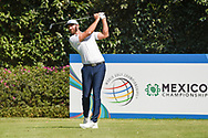Dustin Johnson (USA) watches his tee shot on 3 during Rd4 of the World Golf Championships, Mexico, Club De Golf Chapultepec, Mexico City, Mexico. 2/23/2020.<br /> Picture: Golffile   Ken Murray<br /> <br /> <br /> All photo usage must carry mandatory copyright credit (© Golffile   Ken Murray)