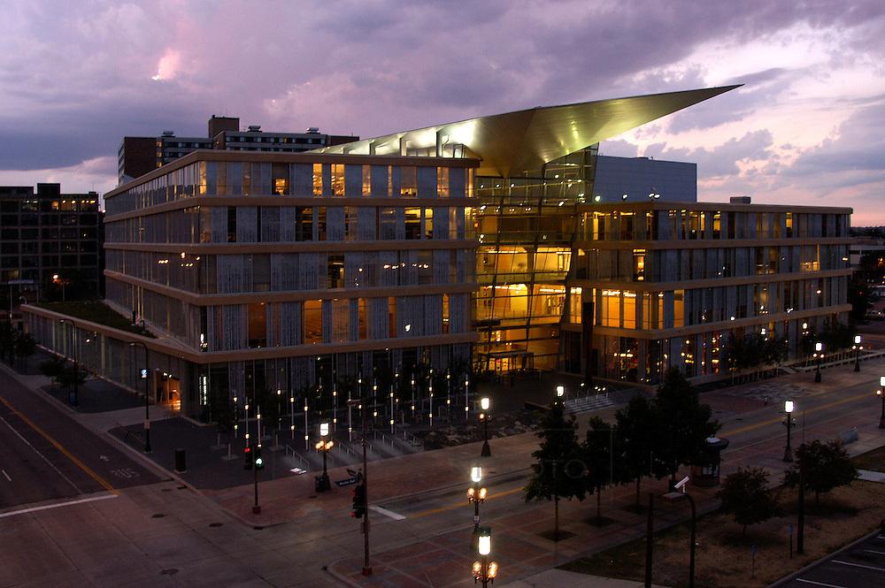 Newly rebuilt Minneapolis Public Library