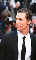 Actor Matthew Mcconaughey,at The Paperboy gala screening red carpet at the 65th Cannes Film Festival France. Thursday 24th May 2012 in Cannes Film Festival, France.