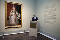Media tour of paintings from the Prado Dec. 13, 2012 in Houston at the Museum of Fine Arts Houston.
