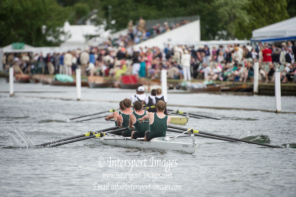 Henley Royal Regatta, Henley on Thames, Oxfordshire, 3-7 July 2013.  Wednesday  16:23:07   03/07/2013  [Mandatory Credit/Intersport Images]<br /> <br /> Rowing, Henley Reach, Henley Royal Regatta.<br /> <br /> The Wyfold Challenge Cup<br /> Maidenhead Rowing Club beating Thames Rowing Club