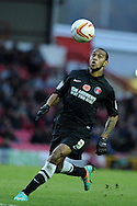 Charlton's Danny Haynes in action. NPower championship, Bristol city v Charlton Athletic at Ashton Gate stadium in Bristol on Sunday 11th November 2012.  pic by Andrew Orchard, Andrew Orchard sports photography,