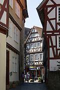 Gasse, Altstadt, Fritzlar, Nordhessen, Hessen, Deutschland | street, old town, Fritzlar, Hesse, Germany