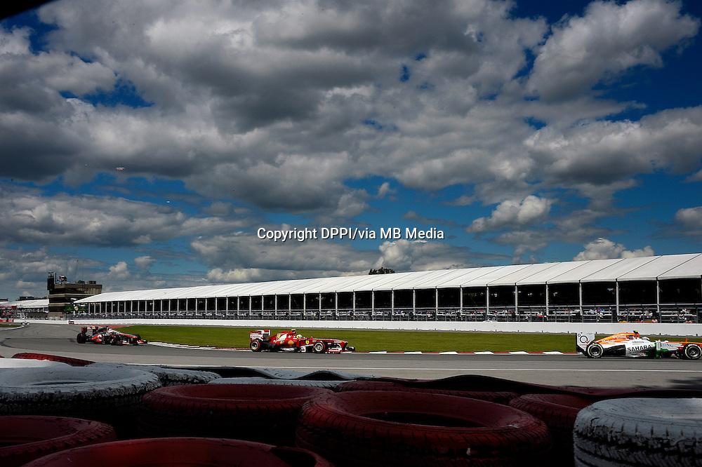 MOTORSPORT - F1 2013 - GRAND PRIX OF CANADA - MONTREAL (CAN) - 07 TO 09/06/2013 - PHOTO ERIC VARGIOLU / DPPI MASSA FELIPE (BRA) - FERRARI F138 - ACTION