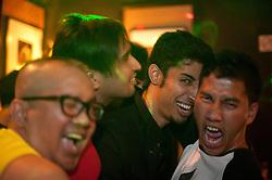 Guys having fun in Tantric/Singapore