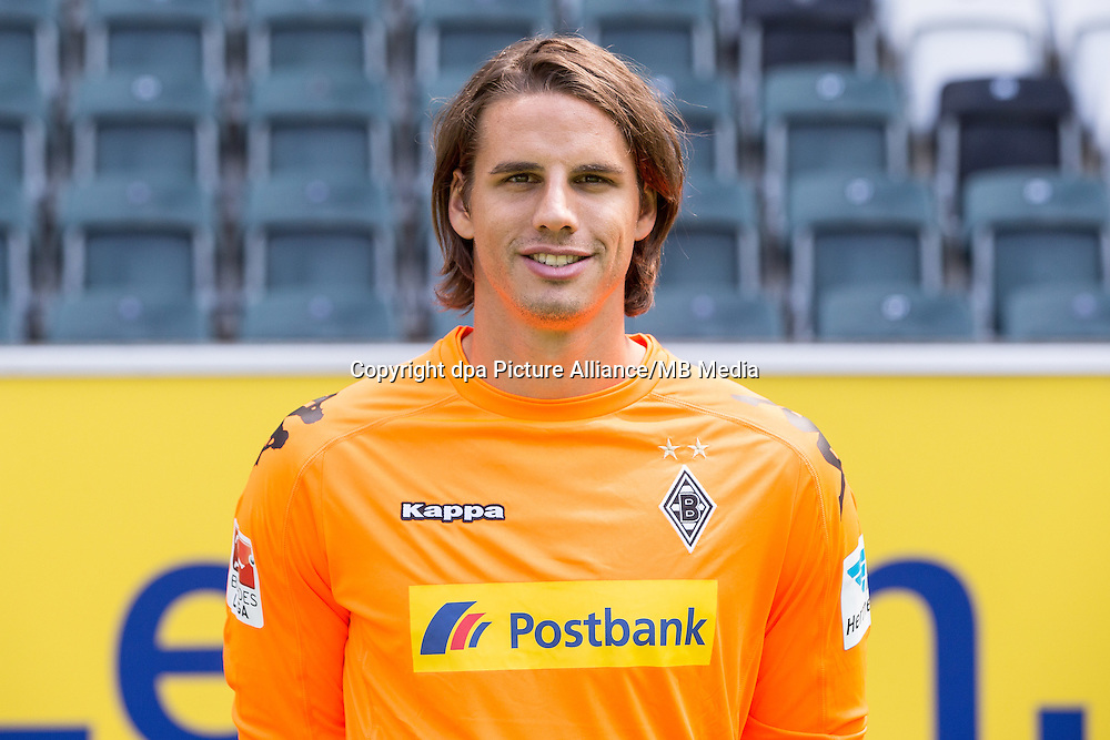 German Bundesliga - Season 2016/17 - Photocall Borussia Moenchengladbach on 1 August 2016 in Moenchengladbach, Germany: Goalkeeper Yann Sommer. Photo: Maja Hitij/dpa | usage worldwide